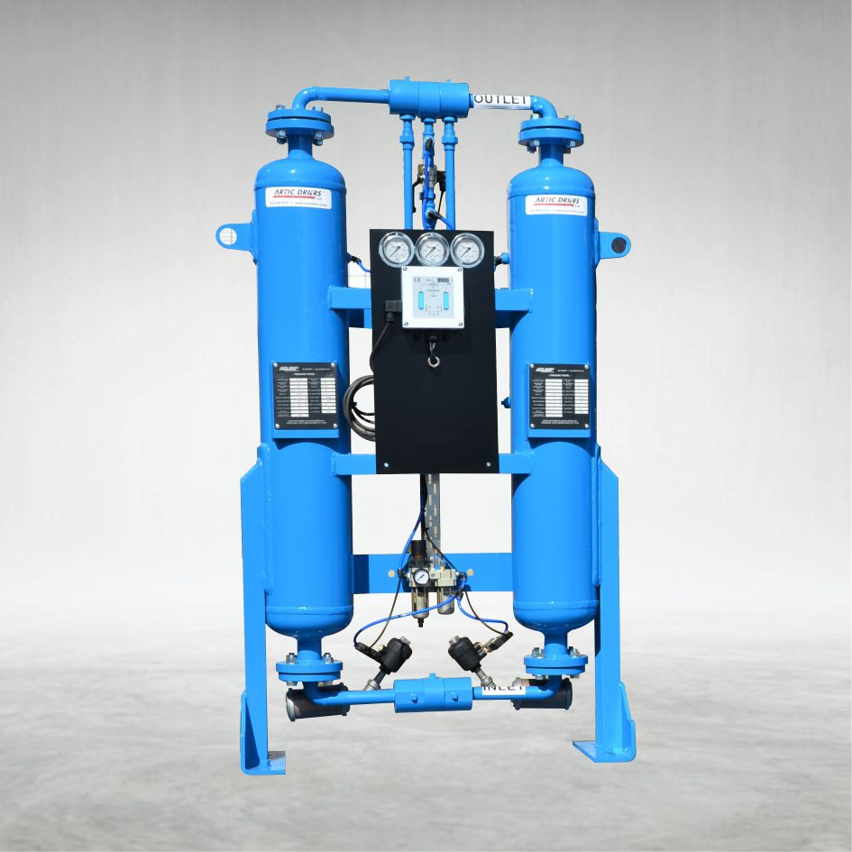 Locally Built Compressed Air Dryer